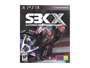 SBK SuperbikeX Playstation3 Game