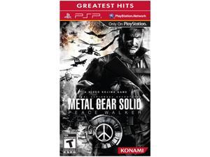 Metal Gear Solid: Peace Walker PSP Game KONAMI