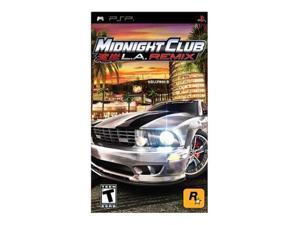 Midnight Club: LA Remix PSP Game Rockstar