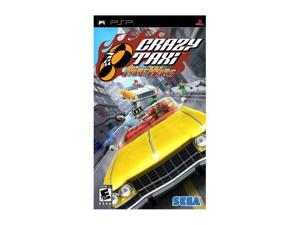 Crazy Taxi: Fare Wars PSP Game SEGA
