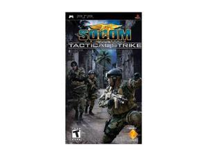 SOCOM U.S. Navy SEALs Tactical Strike PSP Game SONY