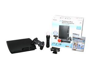 SONY Playstation 3 Move 320 GB Bundle Black