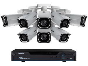 Lorex LNR6828K 8 Channel 4K Ultra HD NVR/IP Camera System with 8 Ultra HD 4K PoE Security Cameras, Bulit-in 2TB HDD
