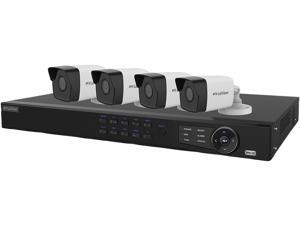 LaView  LV-KN988P84A4 8 Channel NVR Security System with 4x 1080P IP Cameras (No HDD Included, Sold Separately)