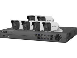 LaView 4MP Zoom HD 6 Cameras 8 Channel NVR PoE IP Security System, with 4 Pcs 4MP (2688 x 1520p) and 2 Pcs 2MP (1920 x 1080p) Bullet Camera (No HDD Included, Sold Separately)