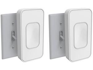 Switchmate TSM001W2 Toggle White 2 Pack
