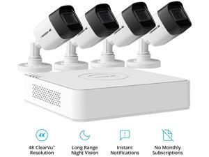 Defender Ultra HD 4K (8MP) Wired Security System with 4 Night Vision Cameras and 1TB DVR