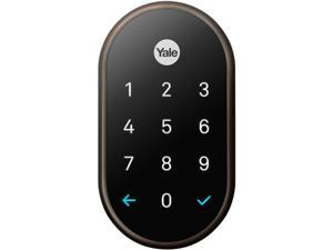 Nest x Yale lock (Oil Rubbed Bronze) with Nest Connect