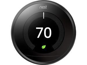 Nest T3016US Learning Thermostat - 3rd Generation - Black