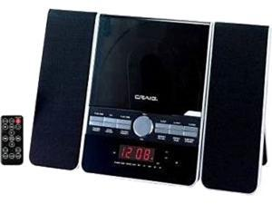Craig Electronics Shelf System CM427BT-BK