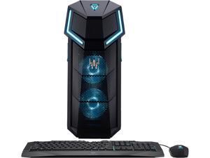 Acer Gaming Desktop Predator Orion 5000 PO5-610-UR12 Intel Core i5 8th Gen 8600K (3.60 GHz) 16 GB DDR4 512 GB PCIe NVMe SSD NVIDIA GeForce GTX 1070 Windows 10 Home 64-Bit