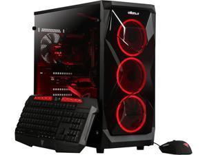 ABS Gem - Ryzen 5 2400G - GeForce GTX 1060 - 8GB DDR4 - 120GB SSD - 1TB HDD - Gaming Desktop PC