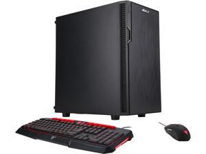 ABS Warrior - Ryzen 5 1600 - GeForce GTX 1050 Ti - 8GB DDR4 - 480GB SSD - Gaming Desktop PC