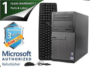 DELL Desktop Computer OptiPlex 990 Intel Core i7 2nd Gen 2600 (3.40 GHz) 4 GB DDR3 250 GB HDD Intel HD Graphics 2000 Windows 7 Professional 64-bit