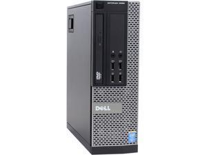 DELL Desktop Computer OptiPlex 9020 Intel Core i5 4th Gen 4590 (3.30 GHz) 8 GB DDR3 500 GB HDD Windows 7 Professional