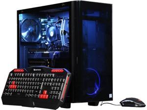 iBUYPOWER Desktop Computer View2187Ti Intel Core i7 8th Gen 8700 (3.20 GHz) 16 GB DDR4 2 TB HDD 240 GB SSD NVIDIA GeForce GTX 1070 Ti Windows 10 Home 64-Bit