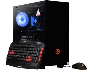CyberpowerPC Gaming Desktop Gamer Master 2766T Ryzen 7 2nd Gen 2700 (3.20 GHz) 16 GB DDR4 2 TB HDD 240 GB SSD NVIDIA GeForce RTX 2060 Windows 10 Home 64-bit