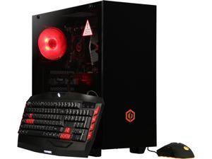 CyberpowerPC Gaming Desktop Gamer Master 2686T Ryzen 5 2nd Gen 2600 (3.40 GHz) 8 GB DDR4 1 TB HDD 240 GB SSD NVIDIA GeForce RTX 2060 Windows 10 Home 64-bit