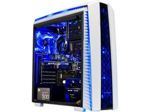 SkyTech Archangel II - Gaming Computer PC Desktop - Ryzen 5 1400 4-Core 3.2 GHz, NVIDIA GeForce GTX 1050 Ti 4 GB, 500 GB SSD, 8 GB DDR4, AC WiFi, Windows 10 Home 64-bit