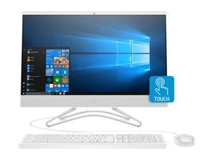 "HP All-in-One Computer 24-f1040 Ryzen 3 3rd Gen 3200U (2.60 GHz) 8 GB DDR4 1 TB HDD 128 GB SSD 23.8"" Touchscreen Windows 10 Home 64-bit"