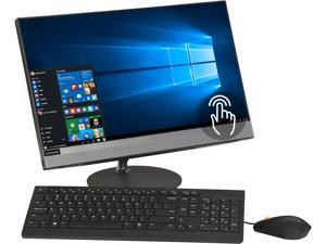 "Lenovo All-in-One Computer IdeaCentre 520-22ICB F0DT001TUS Intel Core i3 8th Gen 8100T (3.10 GHz) 4 GB DDR4 16 GB Optane Memory 1 TB HDD 21.5"" Touchscreen Windows 10 Home 64-bit"