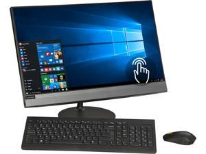 "Lenovo All-in-One Computer IdeaCentre 520-24ICB F0DJ006VUS Intel Core i5 8th Gen 8400T (1.70 GHz) 8 GB DDR4 16 GB Optane Memory 2 TB HDD 23.8"" Touchscreen Windows 10 Home 64-Bit"