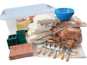 Teifoc 502 School Set Brick and Mortar Construction Kit Assortment - 720+ Pcs.