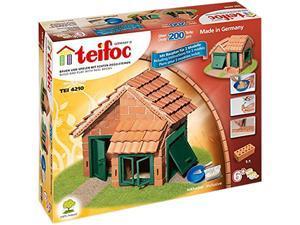 Teifoc 4210 House With Tile Roof Brick Construction Set - 207 Pcs.