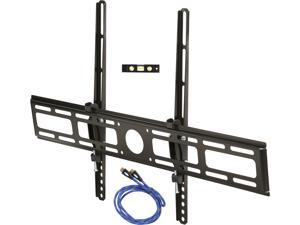 "Rosewill RHTB-14003 32""-70"" LCD LED TV Lockable Tilt Wall Mount with 6 ft. HDMI Cable, Bubble Level, Max Load 99 lbs., Black, Compatible with Samsung, Vizio, Sony, Panasonic, LG and Toshiba TV"