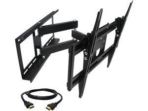 "Megamounts GMW643-HDM-BNDL 26"" - 55"" Full Motion Wall Mount for 26-55 in. Displays with HDMI"