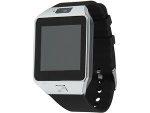 Krazilla Bluetooth Smart Watch for Android Phones - Black/Silver