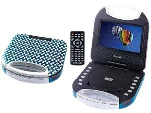 Craig CTFT750ZB Portable DVD Player With Remote Control