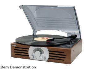 Jensen 3 Speed Stereo Turntable & Am/fm Stereo Radio JTA222P