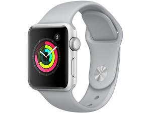 Apple Watch Series 3 GPS, 42mm Silver Aluminum Case ...