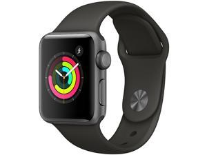 Apple Watch Series 3 (GPS), 42mm Space Gray Aluminum Case ...