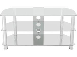 "AVF SDC1000CMCC-A up to 50"" Classic - Corner Glass TV Stand with Cable Management"