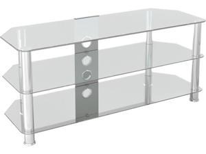 "AVF SDC1140CMCC-A up to 55"" Classic - Corner Glass TV Stand with Cable Management"