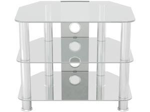 "AVF SDC600CMCC-A up to 32"" Classic - Corner Glass TV Stand with Cable Management"