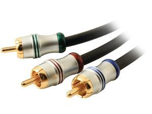 Mywerkz 44732 6.56 ft. 700 Series Component Video Cable Male to Male