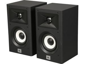 JBL Stage A120 2-Way Bookshelf Speakers (Black, Pair)