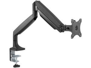 "inland 05295 Silver 13"" - 32"" Full Motion Monitor Desk Mount Fits most 13"" - 32"" Flat & Curved LCD/LED Monitors"