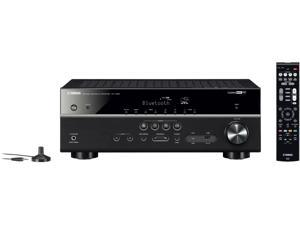 Yamaha RX-V485 5.1-Channel 4K Ultra HD AV Receiver with Wi-Fi, Bluetooth and MusicCast, Works with Alexa