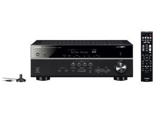 Yamaha RX-V585 7.2-Channel 4K Ultra HD AV Receiver with Wi-Fi, Bluetooth and MusicCast. Works with Alexa