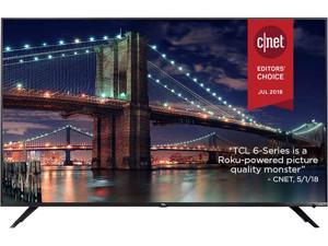 "TCL 6-SERIES 55"" 4K 120Hz UHD Dolby Vision HDR Roku Smart LED TV 55R617"