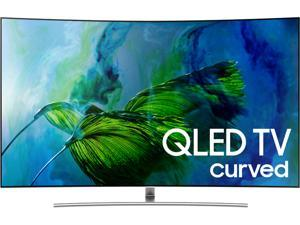 Samsung QN55Q8CAMFXZA 55-Inch 4K Ultra HD Curved QLED Smart TV with HDR Elite