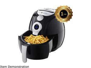 VICOODA ID0013US-01 Large 3.5 L Oil-Free Powerful Air Fryer, Black & White