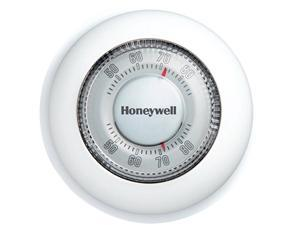 Honeywell YCT87N1006/U The Round Heat/Cool Manual Thermostat