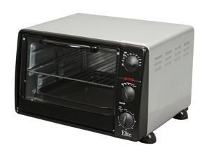 Maxi-Matic Elite ERO-2008N 23L 6-Slice 1500 Watts Toaster Oven Broiler with Rotisserie