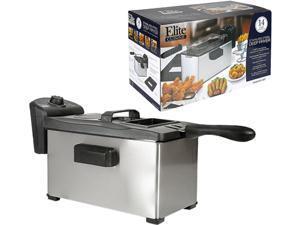 Elite 3.5Qt. Deep Fryer with Thermostat