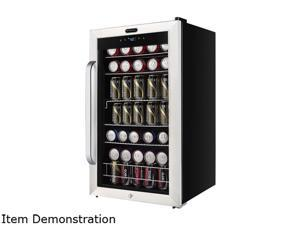 Whynter BR-1211DS Freestanding 121 Can Beverage Refrigerator with Digital Control and Internal Fan